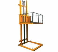 Mech Ind Aluminium Loading Mechanical Lift, For Industries, Warehouse etc