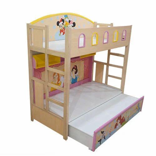 Kids Wooden Bunk Bed Children Bunk Bed Toddler Bunk Bed
