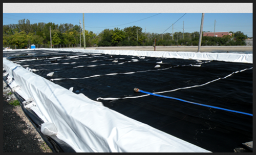 Waste Disposal Geotextile | Fibertex Private Limited