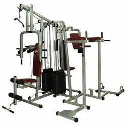 胸铁4站多健身房生命线2重量堆叠,重量:300磅