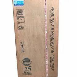 Matte Brown MR Flush Door, Wooden, Rough
