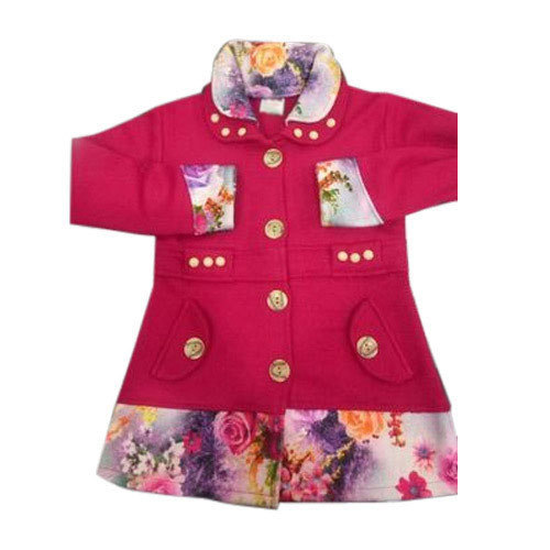 17d300c70 Girls Woolen Dress Style Coat at Rs 220  piece