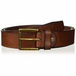 Woodland BT 1054041 Tan Men's Leather Belt