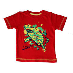 Casual Wear Printed Boys Cotton T-Shirt