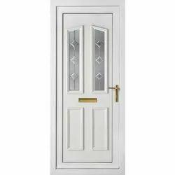 Hinged Decorative PVC Door, Exterior