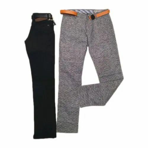 Mens Plain Trouser, Packaging Type: Packet
