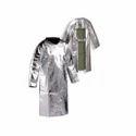 Aluminised Back Open Jacket