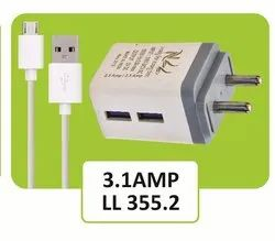 LL 355.2 Travel Faster USB Mobile Charger