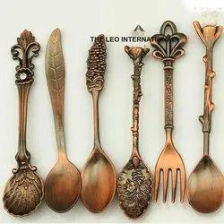 Antique Metal Cutlery