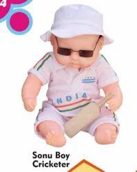 Sonu Boys Cricketer Baby Doll