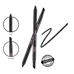 O3  Pro Artist Kajal Waterproof Quick Drying 12h Smudge Proof 2X Darker Eyeliner (Pack of 1)