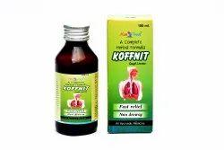 KOFFNIT Cough Syrup Ayurvedic Medicine, 100 ml