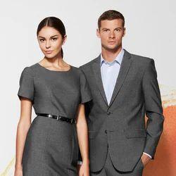 Cotton Gray Corporate Formal Uniform, Size: Large