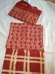 Batik Print Cotton Salwar Suit (3 Piece)