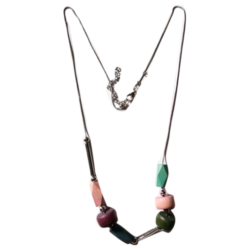 Resin Horn Ladies Necklace
