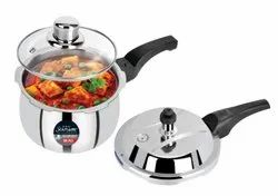1 PIECES Pressure Cooker (Stainless Steel), For Home