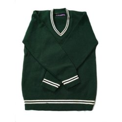 Green Woolen School Uniform