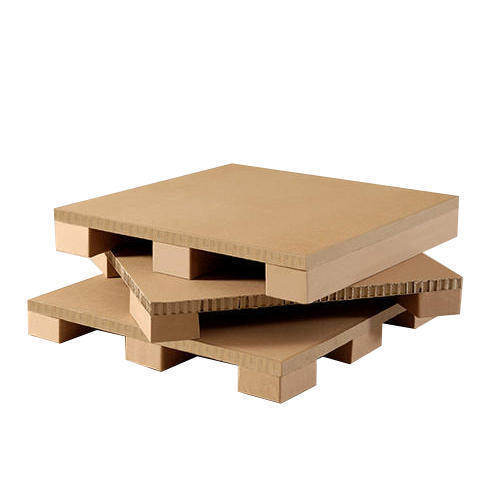 Brown Paper Honeycomb Pallet, Capacity: 400 To 500 Kg Dimension ...