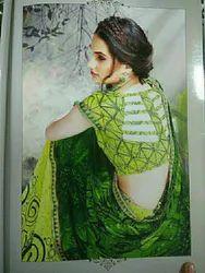 Border Lace Fancy Saree