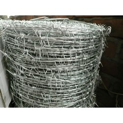 Mild Steel Barbed Wire, For Fencing