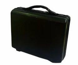 VIP Budix Jet Black Briefcase