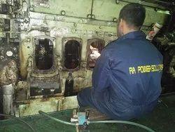 Crankshaft Polishing On Vessel