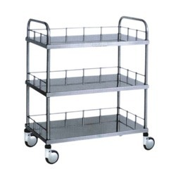 Mass Lift Stainless Steel Instrument Trolley