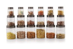 Air Tight Storage Kitchen Container Jar Set