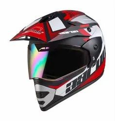Full Face Red Motorcycle Helmets