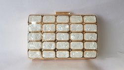 White Diamond Designer Handbags