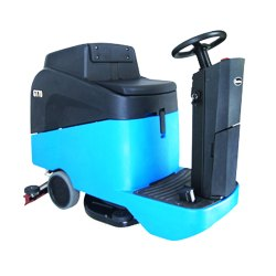 Industrial Cleaning Machine Ride on Scrubber 70 L Tank