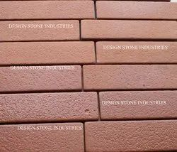 Sbt Red Sand Stone, Size: 50x200 mm, Thickness: 15 mm