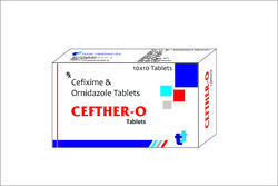 Cefixime Ornidazole Tablet