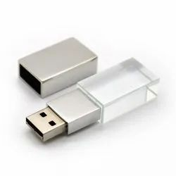 Customized Crystal USB Pen Drives
