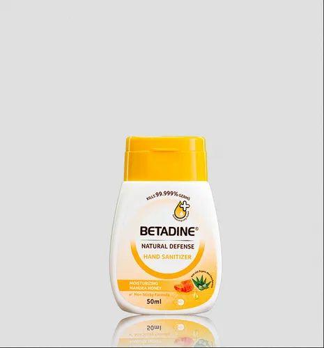 Betadine Natural Defense Nourishing Honey Hand Sanitizer