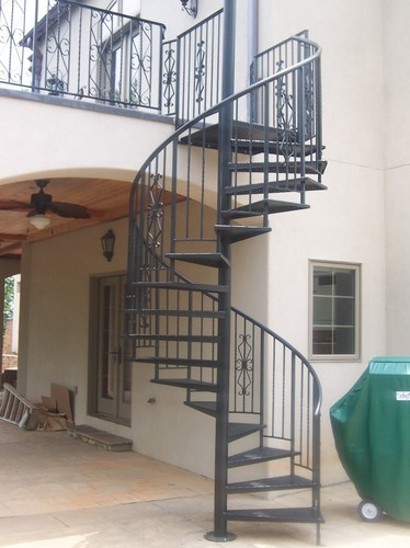 Mild Steel Spiral Stair View Specifications Details Of Spiral Stairs By Rk Enterprises