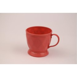 Plastic Red Tea Cup