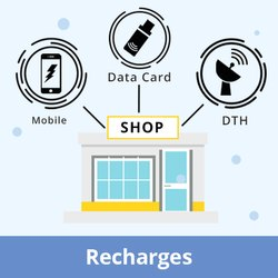 Validity,Talk Time and Data Retainer Based Mobile/DTH/Data Card Recharges