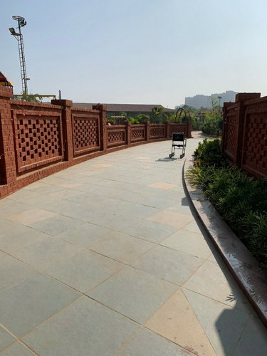 Commercial Interior Designing Garden Restaurant Design, Work Provided: Wood Work & Furniture