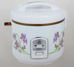 Silver Stainless Steel RICE COOKER, for Home