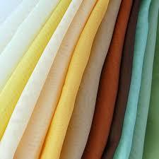Mulit Color Solid Voile Fabrics