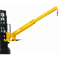 Telescopic Fork Mounted Jib Crane