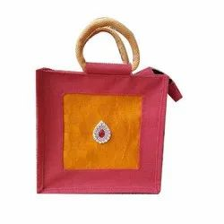 Designer Jute Bags, Size/Dimension: 10*10*4 Inch, Model Name/Number: Anoo's
