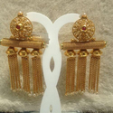 Traditional Copper Earrings