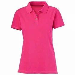 Ladies Plain Corporate T Shirt