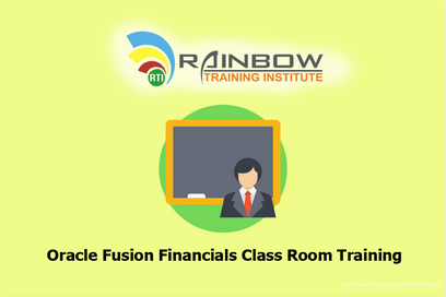 Oracle Fusion Financials Class Room Training and Oracle Fusion