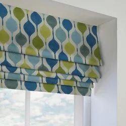 Horizontal Cloth Roman Window Blind