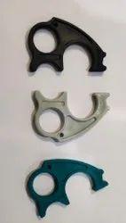Plastic Round Mitsu Chem COVID''19 Dontouch Corona Sword Safety Key