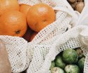 Cotton Certified Mesh Net Fruit Bags Cotton Mesh Bag for Produce Bag