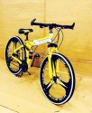 BMW 3S Yellow Foldable Cycle